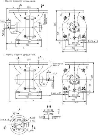 Схема насоса СВН-80А